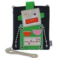 Robot mini bag_navy(로봇미니백)