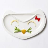 Small fox plate