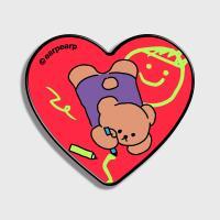 Doodle bear-hot pink(하트톡)