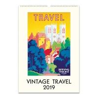 2019 캘린더 카발리니 Vintage Travel
