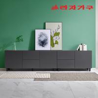 포베 높은 거실장 서랍형 세트 3000