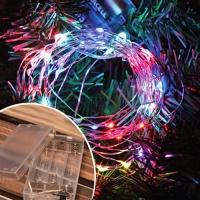 LED 50P 와이어 건전지(밧데리)전구 (칼라)