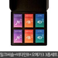 [필러스] 밀크씨슬 오메가3 비타민B 필러스 선물세트 L1호