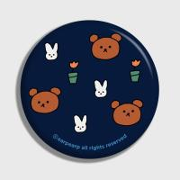 Bear and rabbit-navy(거울)