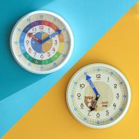 오리엔트 OT877 무소음 시간배우기 교육용벽시계