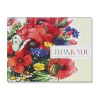 홀마크 감사 카드(꽃다발)-KED2155