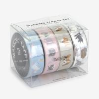 Masking tape 4p set - 01 Animal