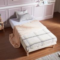 [채우리] 로터스 소나무 원목 침대 프레임/깔판 S
