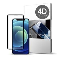 스킨즈 아이폰12 4D 풀커버 강화유리 필름 1매