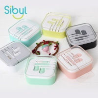 [1+1] 사이빌 ID-46 심플라인 컬러 이어폰
