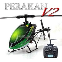 [헬셀] RC헬기 6채널 프로페셔널한 비행 페라칸 V2 + DEVO7