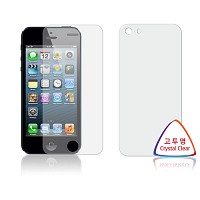 애플 아이폰5S / 아이폰5 고투명 항균 액정보호필름
