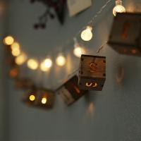LED 메리크리스마스 이니셜전구조명 (배터리팩)