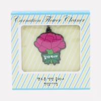 포포팬시 카네이션 액정 클리너 핸드폰줄 꽃