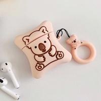 에어팟 1/2 차이팟 캐릭터 쿠키 키링케이스 221 핑크