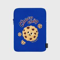Chocochip cookies-blue-ipad pouch(아이패드 파우치)