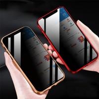 아이폰XS X 프라이버시 메탈 마그네틱 풀커버 케이스