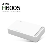 [EFMNetwork] ipTIME H6005 (10/100/1000Mbps/5포트 기가비트 스위칭허브)