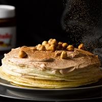 피나포레 노오븐 초코크림 크레이프 케이크 키트