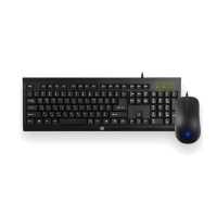 HP 게이밍 기어 콤보 키보드&마우스 HP KM100 (멤브레인 스위치 / 생활방수 / 8가지 키캡 증정)