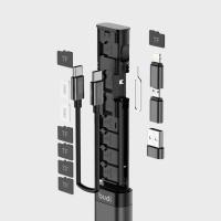 버디 9in1 멀티케이블 스틱 카드리더기 여행필수품