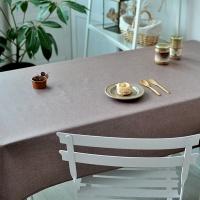 해지 브라운 방수식탁보(2인~10인용)