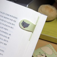 [플라스틱 and 자석 자동책갈피] 자동책갈피 수지인 : 미고의 사랑(민트)