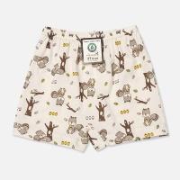 [위드오가닉] 오가닉 사각팬티 아기다람쥐