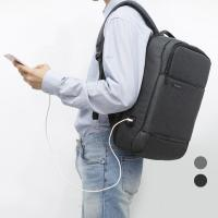 [DICUBO]스마트 포켓 USB포트 컴포터블 백팩 DC10470