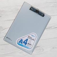 깨지지 않는 알루미늄+눈금자가 인쇄된 Metal 클립보드 HB753