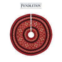 [PENDLETON] 펜들턴(ACC) 크리스마스 트리 깔개 스커트_레드