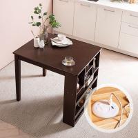 [채우리] 플러그인 2인 수납 식탁 테이블