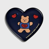 Bear heart-navy(hearttoktok)