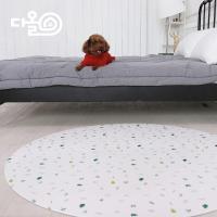 포레스티아 반려동물용 PVC매트 140x140x6T(원형)