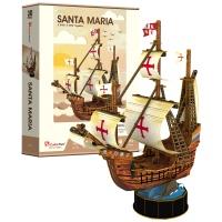 [3D퍼즐마을][T4031h] 산타 마리아호 (Santa Maria)