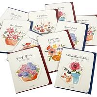 500 카드 꽃다발