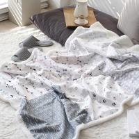 [2HOT] 큐티 강아지 양털 이불 블랭킷 90x145