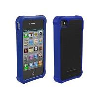 [충격완벽보호 볼리스틱 케이스] BALLISTIC SG For iPHONE 4&4S (Black/Blue) [완벽하게 스마트폰 보호 소재]