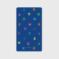 [어프어프] 보조배터리 Alphabet-blue