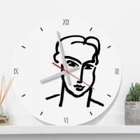 pm177-앙리마티스드로잉02_인테리어벽시계