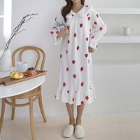 Soft Strawberry Night Dress