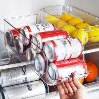 투명 냉장고 음료캔 수납 정리 용기 트레이 (소형)