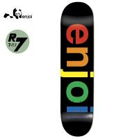 [ENJOI] SPECTRUM BLACK R7 DECK 31.6 x 8.0