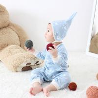 [메르베] 버즈D남아 신생아 우주복/북유럽아기옷_간절기용