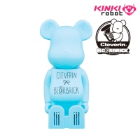 [KINKI ROBOT] 베어브릭 X 클레베린 BEARBRICK CLEVERIN SKYBLUE (1610021)