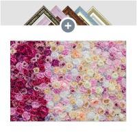 인테리어 캔버스 꽃액자 선인장액자 로즈 패턴