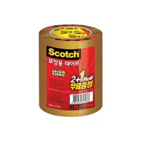 3M 스카치 포장용 테이프 갈색 (48mmX25m) [153345]