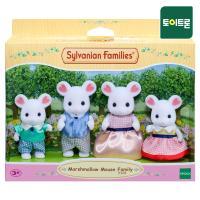 [실바니안공식] 5308-마쉬멜로 마우스 가족