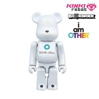 [KINKI ROBOT] 페럴윌리엄스 베어브릭 100%BEARBRICK I AM OTHER (1611056)