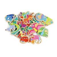 유아 자석 퍼니 퍼즐 놀이 학습 교구 공룡